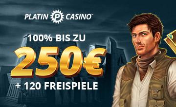 Platin Casino - Jetzt Bonus sichern!