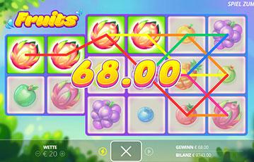 Fruits Spielautomat online