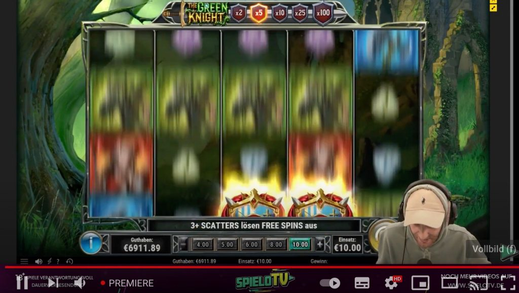 green knight stoppi jackpot