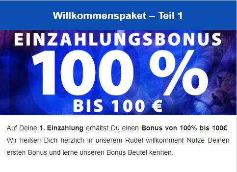 löwen play bonus code