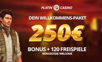 platin casino bonus code
